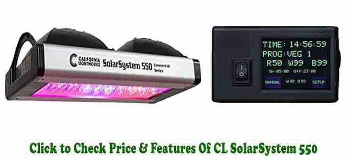 California Lightworks Solarsystem 550 Review - Best LED Grow Light On The Market