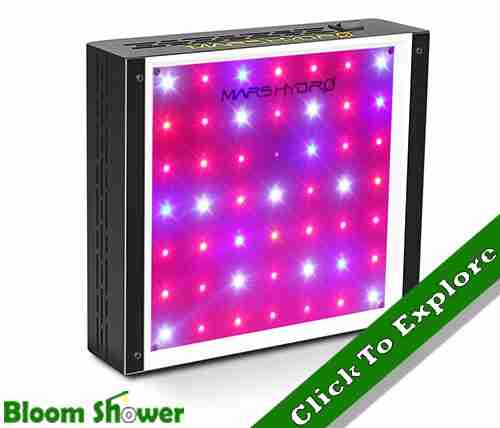 Check Price - Mars Hydro 300W LED Grow Light Review