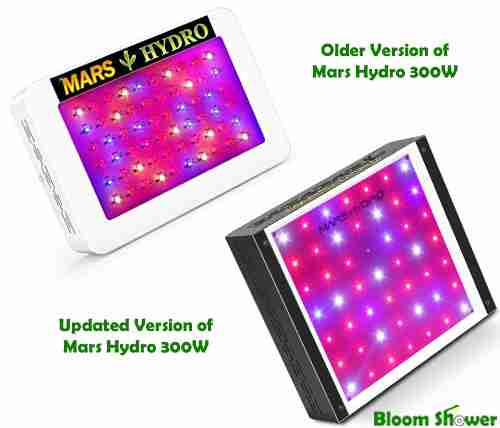 Different Version - Mars Hydro 300W LED