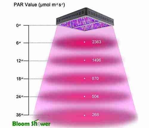 Par Value - ViparSpestra V1200 LED Grow Light